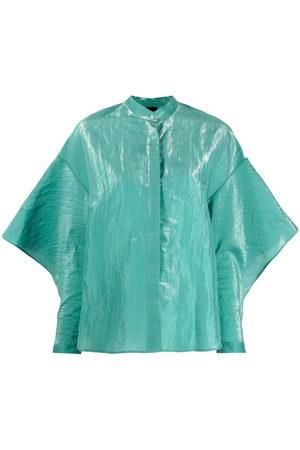 Aspesi Silk-blend camisa