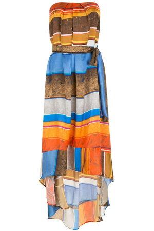 AMIR SLAMA Women Dresses - Silk long dress - Multicolour