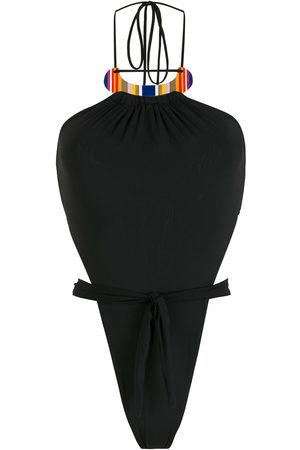 AMIR SLAMA High-leg swimsuit