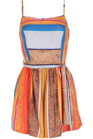 AMIR SLAMA Printed playsuit - Multicolour