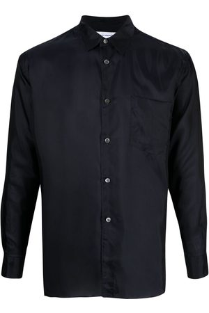Comme des Garçons Pointed collar long-sleeved shirt