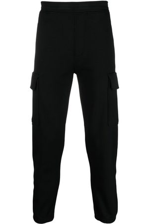 Neil Barrett Men Cargo Pants - Cargo-pocket track pants