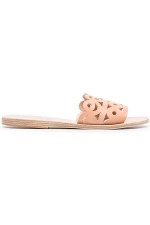 Ancient Greek Sandals Maistros flat sandals - Neutrals