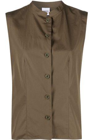 Aspesi Mandarin-collar cotton shirt