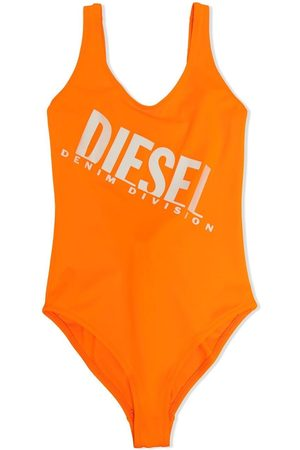 Diesel Girls Swimsuits - Logo-print swimsuit