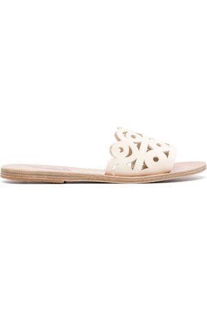 Ancient Greek Sandals Maistros flat sandals