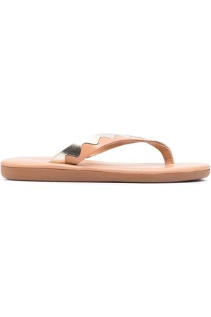 Ancient Greek Sandals Ammos flip flops - Neutrals