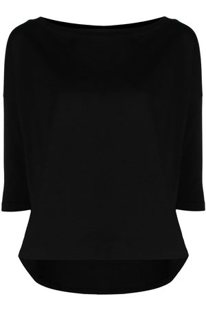SNOBBY SHEEP Boat-neck jersey-knit top