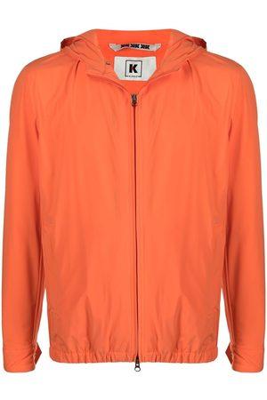 Kired Hooded zip-up jacket