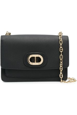 DEE OCLEPPO Chain-strap leather crossbody bag