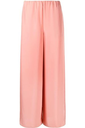 THEORY Women Wide Leg Pants - High-waisted wide-leg trousers