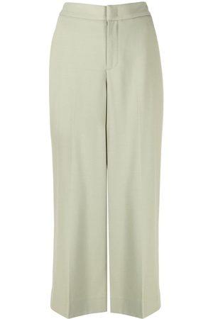 Vince Women Wide Leg Pants - Wide-leg cropped trousers