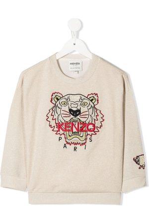 Kenzo Tiger sweatshirt - Neutrals