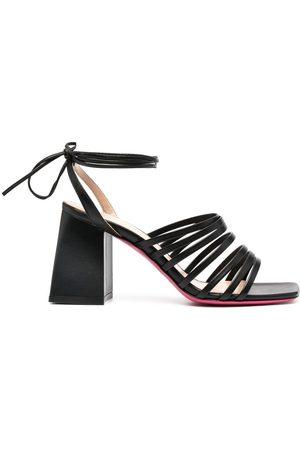 DEE OCLEPPO Strapped block-heel sandals
