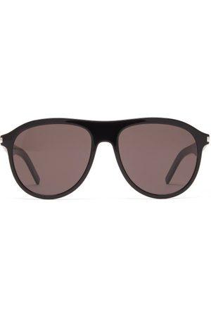 Saint Laurent Aviator Acetate Sunglasses - Womens