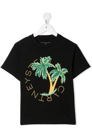 Stella McCartney Palm-tree print T-shirt