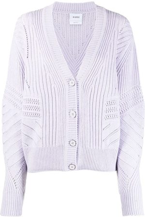 Barrie Open-knit detail cardigan
