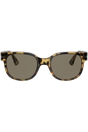 Persol Tortoiseshell-effect square sunglasses