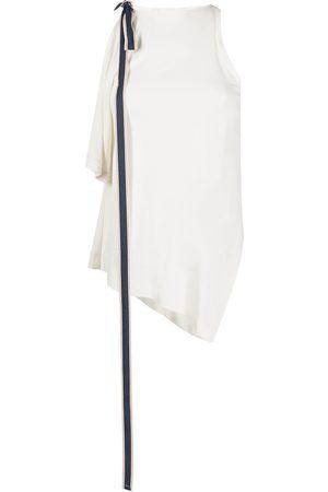 MONSE Grosgrain-tie sleeveless top