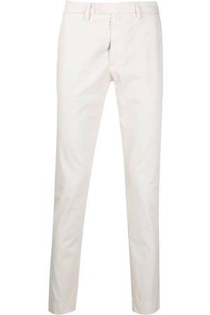 BRIGLIA Cotton chino trousers - Neutrals