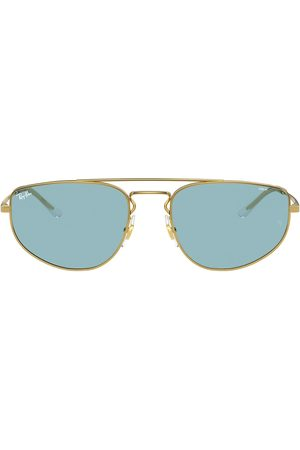 Ray-Ban Tinted aviator-frame sunglasses
