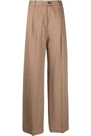Nine In The Morning Women Wide Leg Pants - High-waisted palazzo trousers