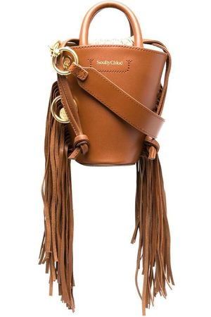 See by Chloé Small Cecilia grained bucket bag