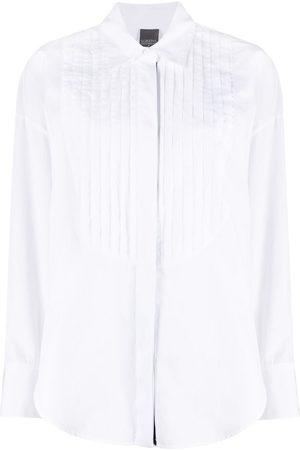 LORENA ANTONIAZZI Women Long sleeves - Ribbed long-sleeved shirt