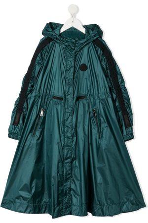 Moncler Logo patch coat