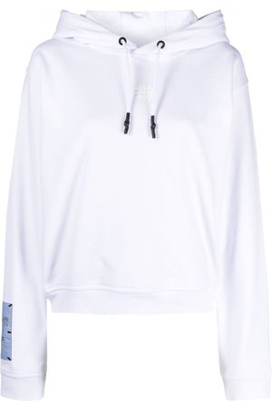 McQ Graphic-print cotton hoodie