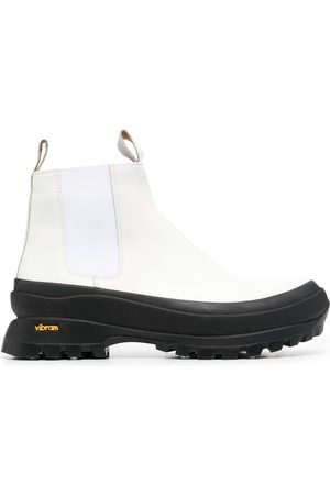 Jil Sander Men Chelsea Boots - Chunky-sole Chelsea boots