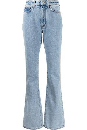 Alessandra Rich Women High Waisted - High rise flared jeans