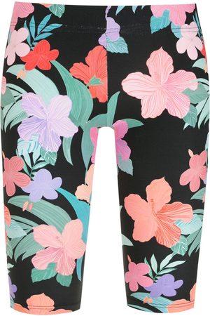 AMIR SLAMA Printed biker shorts - Multicolour