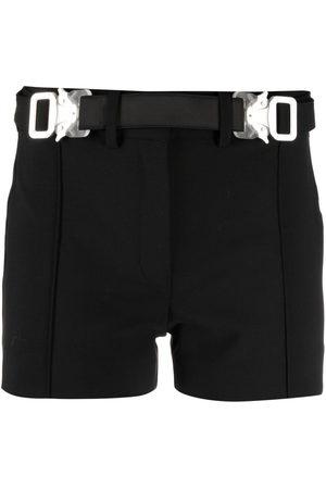 1017 ALYX 9SM Women Shorts - Belted mini shorts