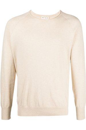 MA'RY'YA Fine-knit cotton jumper - Neutrals