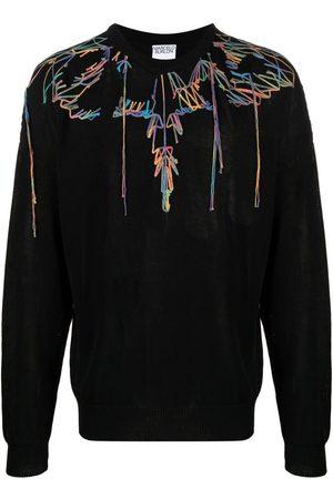 MARCELO BURLON Wings-print sweatshirt