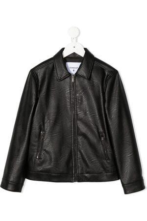 DONDUP KIDS Boys Bomber Jackets - Faux-leather jacket