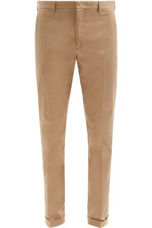 Paul Smith Organic Cotton-twill Slim-leg Chinos - Mens