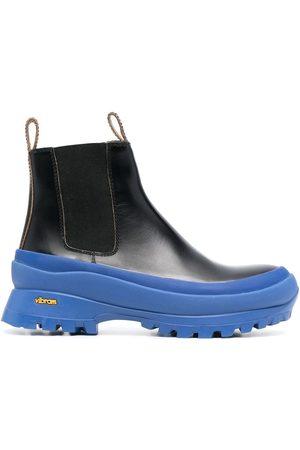 Jil Sander Contrast-sole leather Chelsea boots
