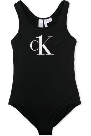 Calvin Klein Logo-print swimsuit