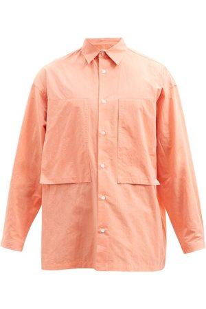 E. TAUTZ Men Casual - Lineman Patch-pocket Cotton-oxford Shirt - Mens - Light