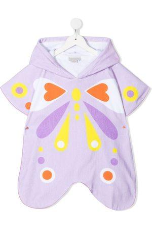 Stella McCartney Butterfly-print towelling dress