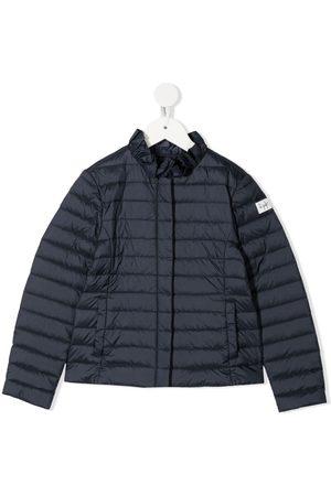 Il gufo Ruffled collar padded jacket