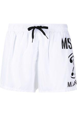 Moschino Logo print swim shorts