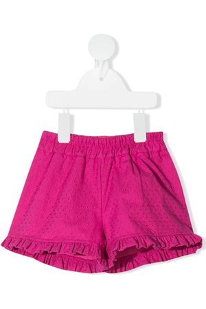 MONNALISA Ruffle-trim shorts