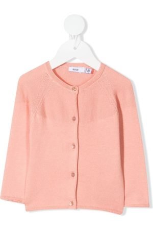 KNOT Cardigans - Holly rib-trimmed cotton cardigan