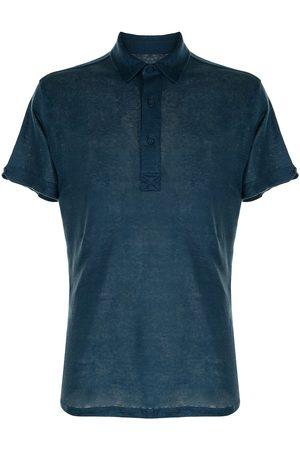 Orlebar Brown Pointed-collar cotton polo shirt
