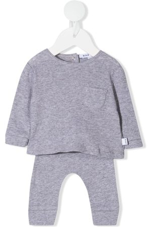 KNOT Sets - Archie knitted tracksuit set - Grey