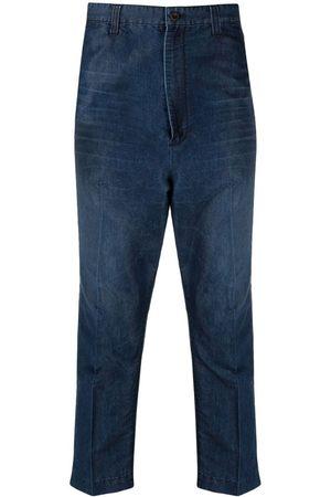 JUNYA WATANABE Men Straight Leg Pants - Cropped straight-leg trousers