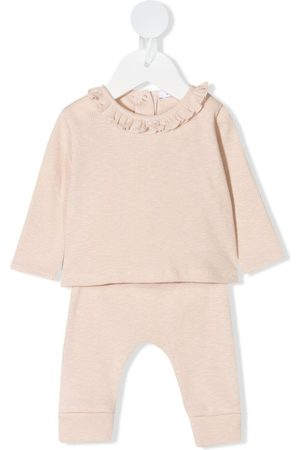 KNOT Sets - Nelly knitted tracksuit set - Neutrals